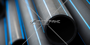 Труба полиэтиленовая ПЭ водопроводная